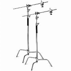Neewer 2 Pieces Heavy Duty Max Height 10 Feet 3m Adjustable Light Stand With 4 Feetholding Arm And Grip Head Kit For Studio In 2020 Adjustable Lighting Heavy Duty Grip