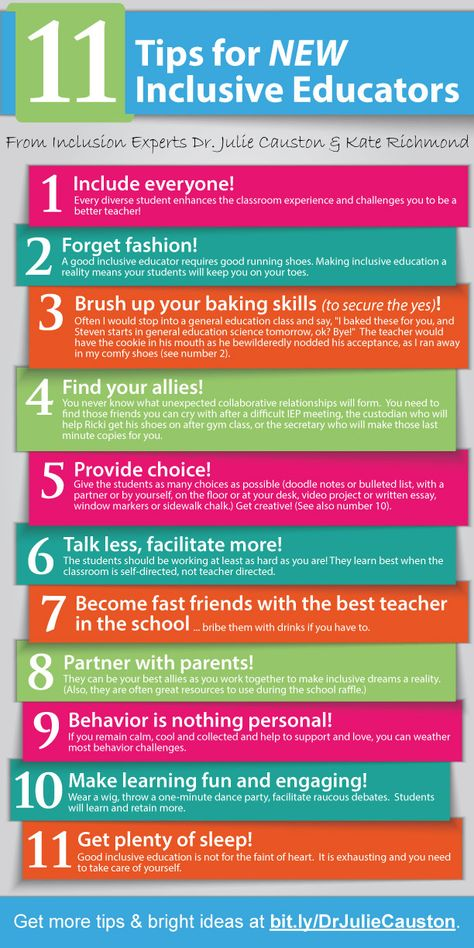 11 tips for new inclusive educators! #inclusion Reach your Dreams from Here http://www.RizwanAyaanVIPGroupGetAll.In/