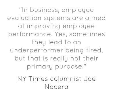 Purpose Employee Evaluation Example Employee Performance Appraisal