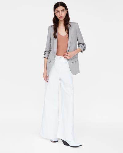 Imagen 1 de BLAZER MANGA PLIEGUES de Zara   All about Zara