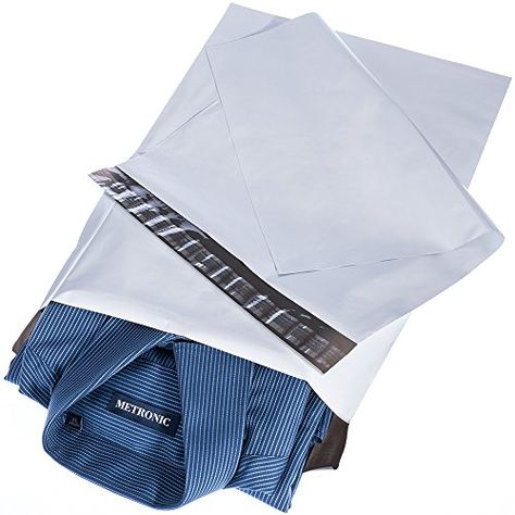 100 9x12 Combo Polymailers 100 Poly Mailers Ship Envelope Bags 200 Total