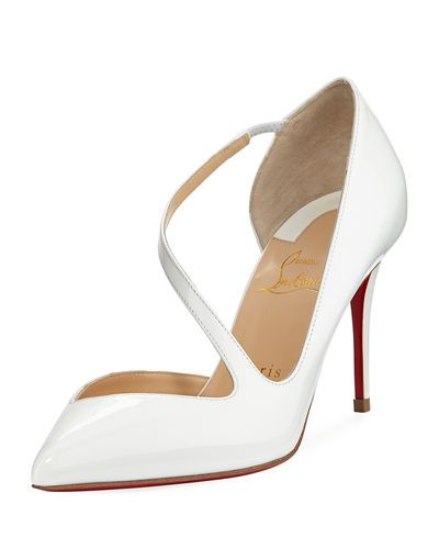 brand new 4ef9b b528f CHRISTIAN LOUBOUTIN JUMPING ASYMMETRIC RED SOLE PUMP ...