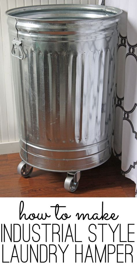 make this DIY laundry hamper in about 15 minutes via http://www.theshabbycreekcottage.com/