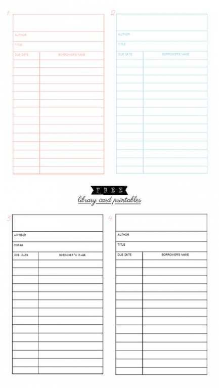 33 Trendy Ideas Wedding Card Template Printables Free Printable Planner Wedding Planner Printables Library Card