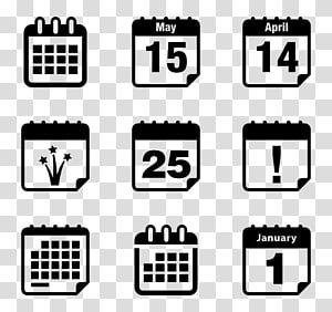 Computer Icons Calendar Date Logo Symbol Schedule Transparent Background Png Clipart Calendar Icon Computer Icon Icon Set Design