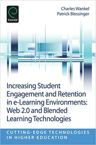 Increasing Student Engagement And Retention In E Learning Environments Increasing Student Engagement Learning Technology Student Engagement