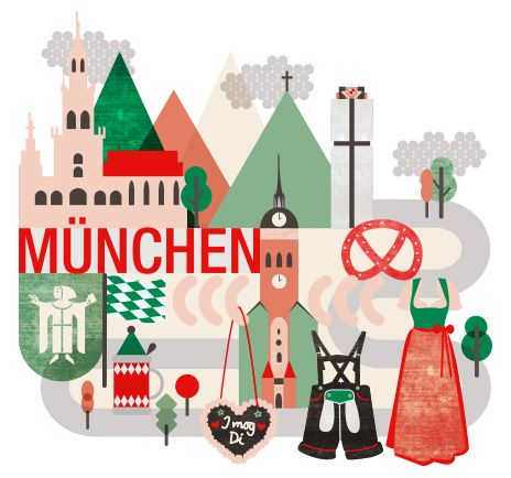 Zum Ausdrucken Printables In 2019 München Karte München Erleben