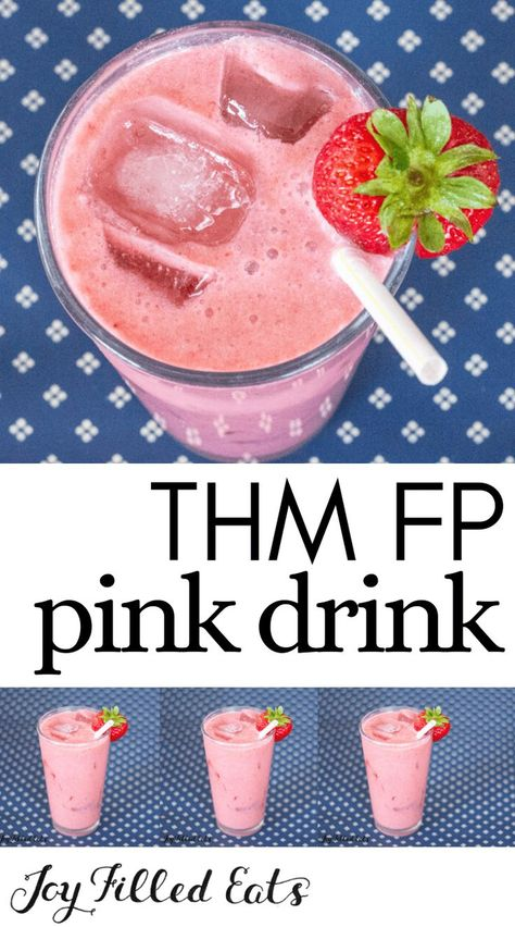 Trim Healthy Mama Diet, Trim Healthy Recipes, Thm Recipes, Shake Recipes, Cream Recipes, Pink Drink Recipes, Pink Drinks, Grain Free, Dairy Free