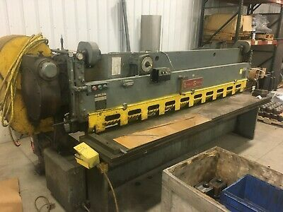 Sponsored Ebay Lodge Shipley Mechanical Shear 1 4 X 10 Metal Working Tools Lodges Metal Working