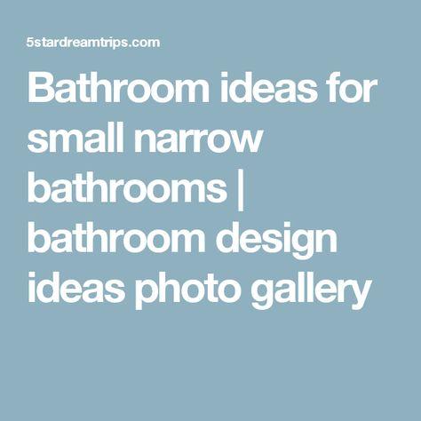 bathroom ideas for small narrow bathrooms | bathroom