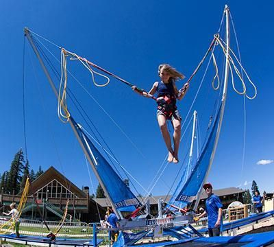 Bungee Trampoline Vacation Plan