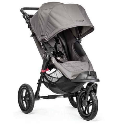 Baby Jogger City Elite Single Stroller, Gray - http://www.strollersreview.net/baby-jogger-city-elite-single-stroller-gray/