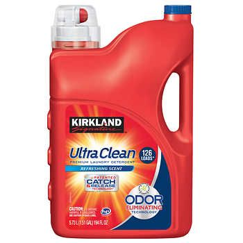 Kirkland Signature Ultra Clean Liquid Laundry Detergent He 194 Fl