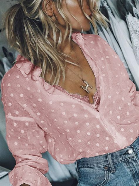 Solid Long Sleeve Casual Shirt