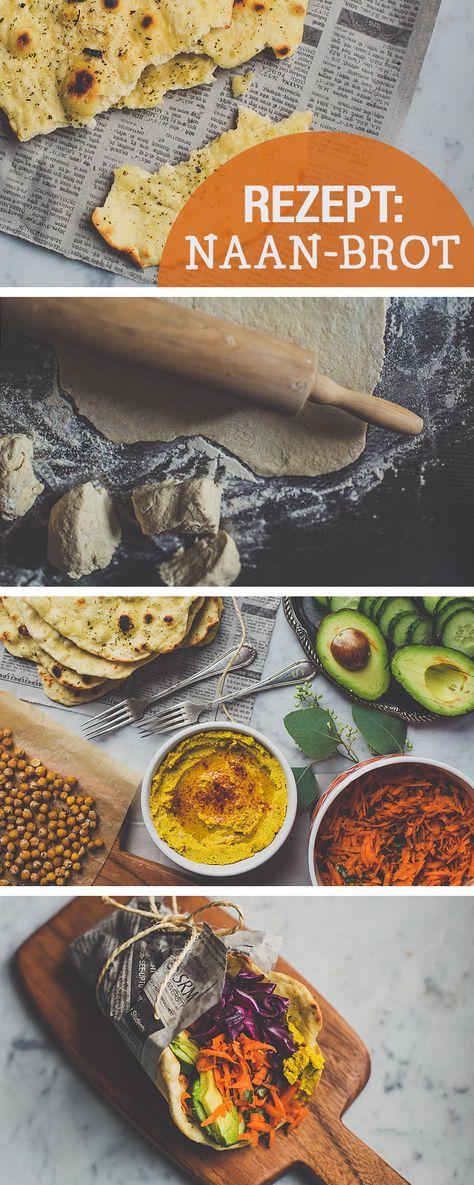 Rezept für Naan Brot, indisch kochen / recipe for naan bread, indian recipes via DaWanda.com