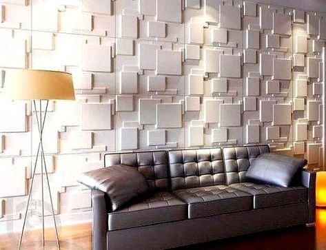 ورق جدران ثلاثي الأبعاد ديكور الجدران الحديث In 2020 Decorative Wall Panels Wall Paneling Unique Wall Decor