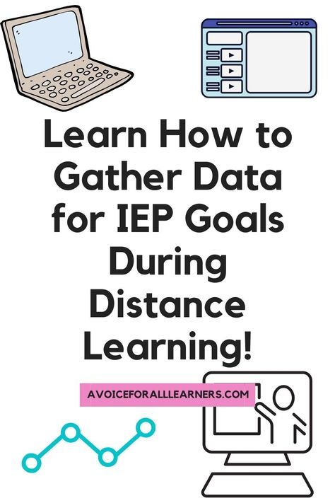 Learn an effective strategy to gather data for progress monitoring on IEP goals during distance learning for your self-contained, special education students. ⋆ A Voice for All Learners Elementary Physical Education, Preschool Special Education, Waldorf Education, Preschool Classroom, Self Contained Classroom, Jobs For Teachers, Social Skills, Social Work, Letter Identification