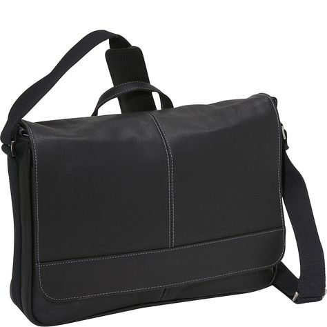 Kenneth Cole Reaction 'Risky Business' Leather Messenger Bag