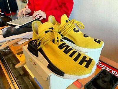 Distinción Enfatizar Mujer joven  eBay Sponsored) Adidas Pharrell PW Human Race NMD Yellow BB0619 Black OG  Boost   Adidas human race, Adidas pharrell williams, Pharrell