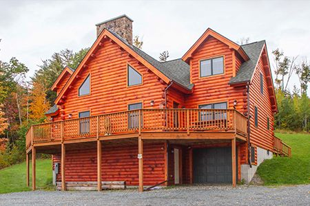 14+ Craftsman style log homes image ideas