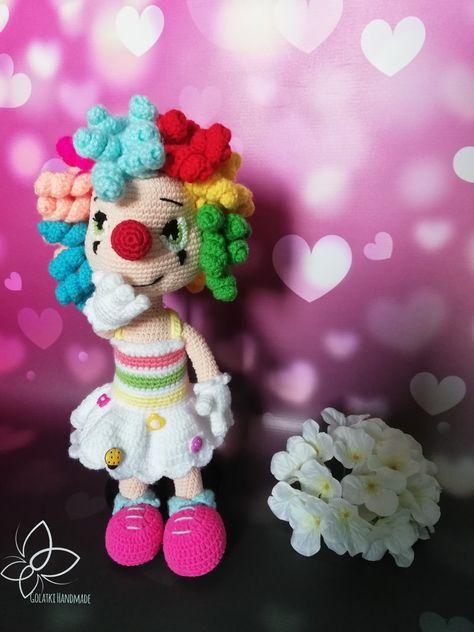 Miss Clown Pani Klaun Wzór Pattern From Havva Designs Yarn