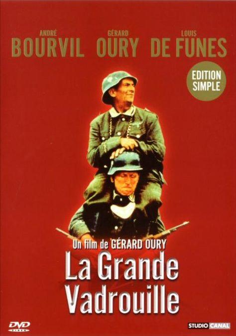 La Grande Vadrouille est un film franco-britannique de Gérard Oury, sorti en 1966. Le film raconte sur le ton de la comédie les déboires des Français face aux Allemands sous l'Occupation. Wikipédia / google.ca