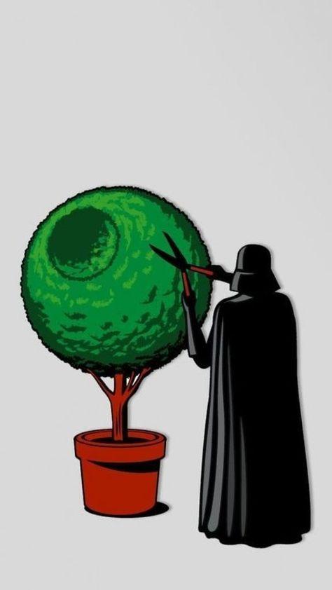Darth Vader the Gardener