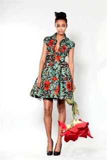 London based Ghanaian Designer Phyllis Taylor dazzles with her 'Sika' Clothing line