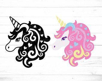 Svg Dxf Eps Pdf Png Ai Jpg Files Cricut Silhouette By Jojoandbellasvg Unicorn Svg Flower Svg Files Fairy Stickers
