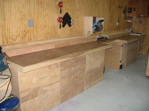 Nice Wall Bench layout
