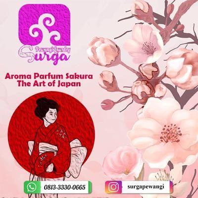 Pewangi Laundry Parfum Pakaian Aroma Sakura Best Seller By Surga Pewangi Laundry Cv Surga Bisnis Agen Distributor Merk Ha Aroma Bunga Parfum Aroma