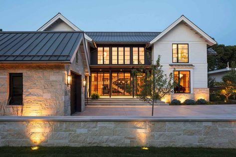 Fabulous modern farmhouse with delightful details in Minnesota