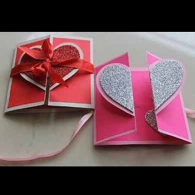 Ayxaj On Instagram Follow Craftistic 001 Art Craft Artist Greeting Cards Handmade Birthday Easy Greeting Cards Simple Birthday Cards