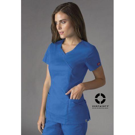 741b8ad409 tunique médicale dentiste royal dickies femme blouse médicale dickies femme  couleur blouse infirmière dickies couleur blouse médicale manches courtes  ...