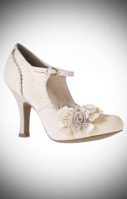 59 Trendy Ideas For Wedding Dresses Vintage 1940s Wedding Shoes Vintage Style Wedding Bridal Shoes