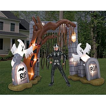 cute halloween decorations | Halloween Yard Decorations for Cute or Gruesome Fun « Halloween Party ...