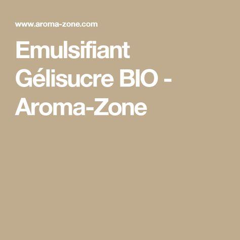 Emulsifiant Gélisucre BIO - Aroma-Zone