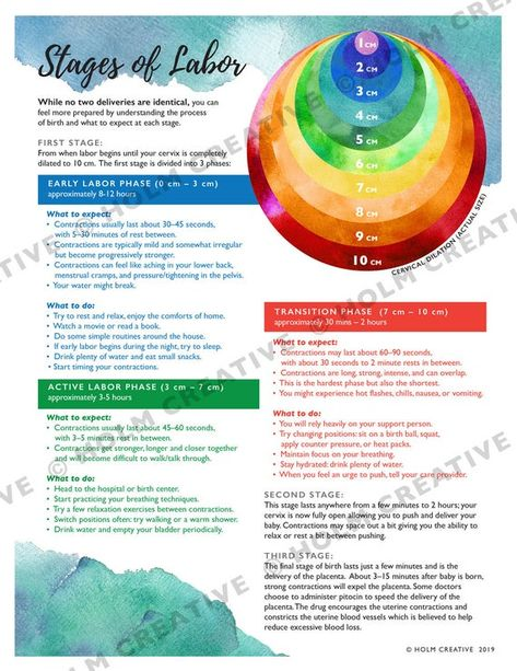 Stages of Labor and Cervical Dilation, Birth Education Handout - Digital PDF - Resource for Childbir Labor Hospital Bag, Hospital Bag For Mom To Be, Labor Bag, Labor Nurse, Breathing Techniques For Labor, Labor Inducing Tricks, Delivery Nurse Gifts, Labor Day Crafts, Labor Positions