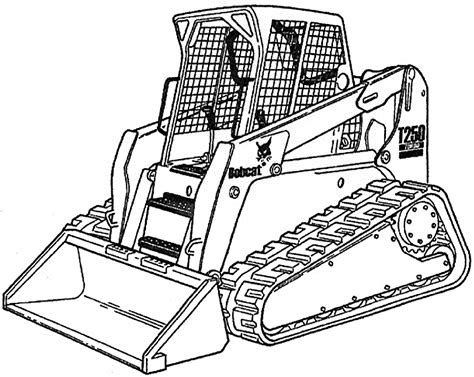 Coloring Pages Skid Steer 2020 Repair Manuals Coloring Pages