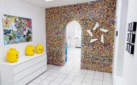 Creatieve Decoratie Ideeen.Creatief Met Lego Meubels En Decoratie Van Lego Blokjes Lego