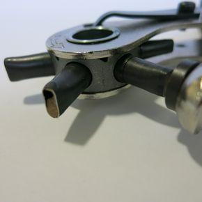 3//4//5//6mm Leder Locher Lochzange Hole Stitching Handwerk Werkzeuge aus Metall