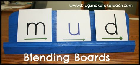 How to make and use a blending board to help students move from saying individual sounds into blending. Aligns with the DIBELS Next NWF assessment.  FREE downloadable cards and a video on how to use the blending board.
