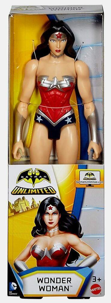 Wonder Woman 12 Inch  Action figure  misb new   dc comics unlimited  mint