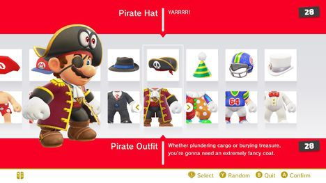 Today Mario Is Wearing His Pirate Hat And His Pirate Outfit From Super Mario Odyssey Super Mario Art Super Mario Odyssey Pirate Outfit