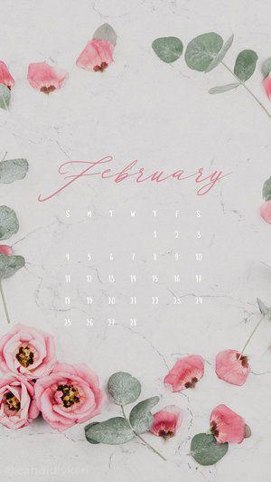 Calendar February 2019 Fancy February 2018 | Fancy Phone in 2019 | Free phone wallpaper