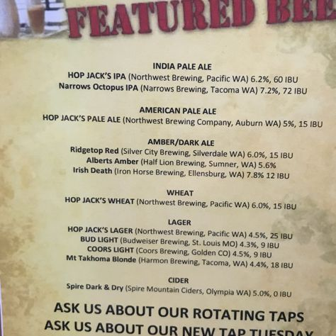 #hopjacks Has Access To Some Of The Best Beer In America And The  Consistently Underdeliver. This Is By Far One Of The Most Generic Tap Lists.
