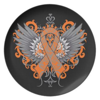 tattoos for copd | copd awareness cool wings party plates $ 27 95