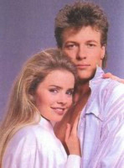 General Hospital's Frisco and Felicia | Reel Life Becomes Real Life: Frisco and Felicia (Jack Wagner, Kristina Wagner)