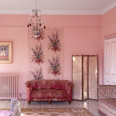 Contemporary British Colonial Living Room Photos - Living Room ...