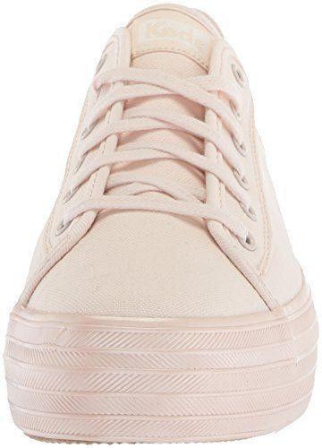 2ab123bc7f68 Keds Women's Triple Kick Shimmer Sneaker, Light Pink, 6.5 M US ...